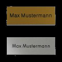 Aluminiumschilder