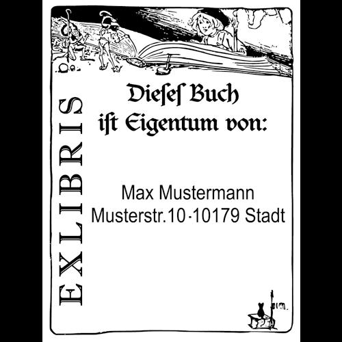 Exlibris Stempel