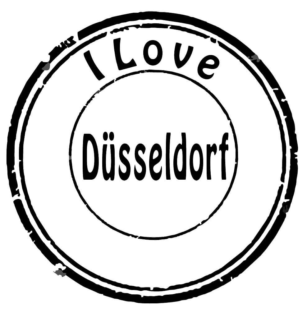 Düsseldorf Stempel