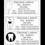 Zahnarzt Stempel