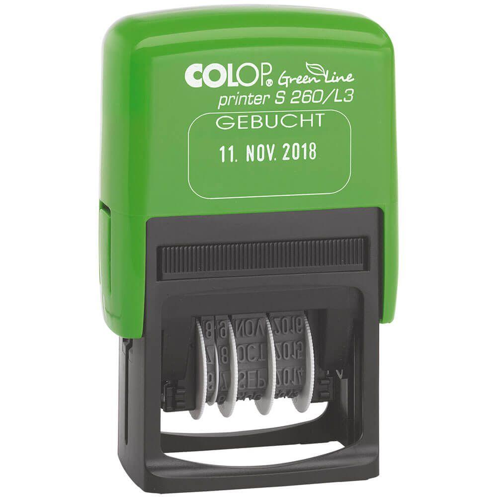 Printer-S260-L3-Green-Line-GEBUCHT