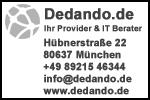 Firmenstempel Abdruck von Dedando