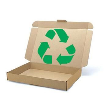 Recycling Verpackungen und Second Life Kartons bei Stempel-Schilder-Druck.de